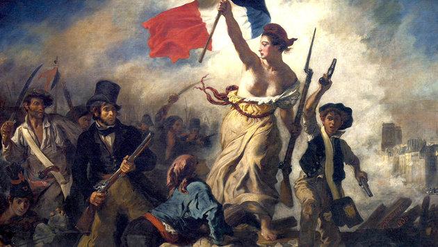 Nackter Femen-Protest in Le-Pen-Hochburg (Bild: Internet)
