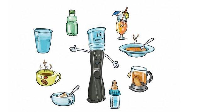 So trinken Sie mehr Wasser! (Bild: watercooler.at)