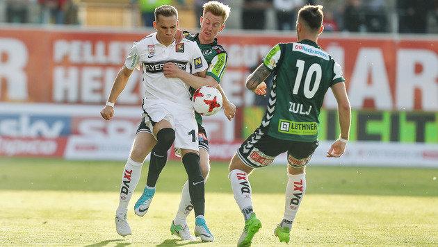 1:0 gegen Admira: Die Rieder leben noch! (Bild: GEPA)