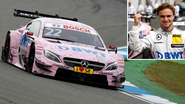 DTM: Lucas Auer triumphiert auf dem Lausitzring! (Bild: GEPA)