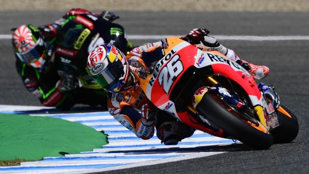Honda-Pilot Pedrosa holt Pole Position in Jerez (Bild: AFP)