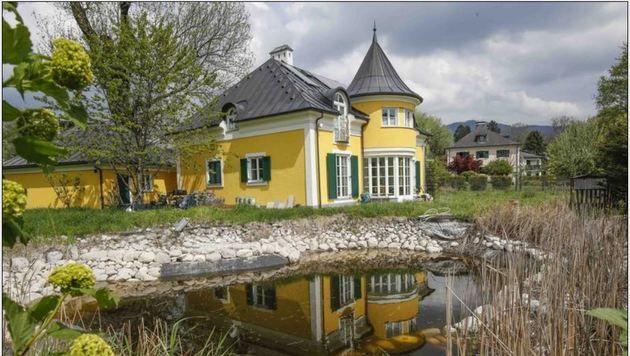 Die Villa von Krenn in Hellbrunn (Bild: Markus Tschepp)