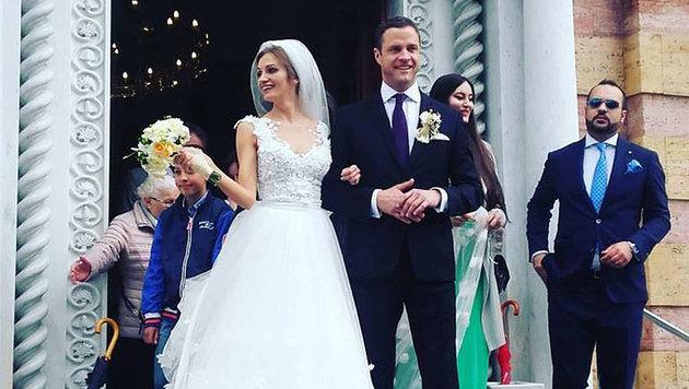Gekrönter Wiener FPÖ-Chef heiratete in Bosnien (Bild: facebook.com)