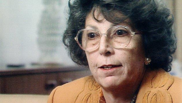 Rudolfine Steindling auf einem Foto im Mai 1996 (Bild: APA/ORF)