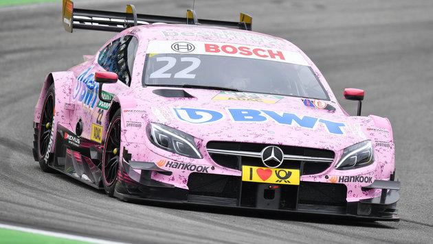 Auer in turbulentem DTM-Rennen auf Norisring 2. (Bild: APA/dpa/Uwe Anspach)