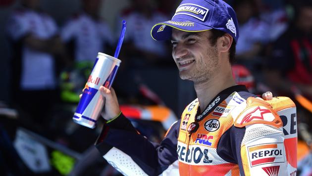 Dani Pedrosa triumphiert beim MotoGP in Jerez (Bild: AFP or licensor)