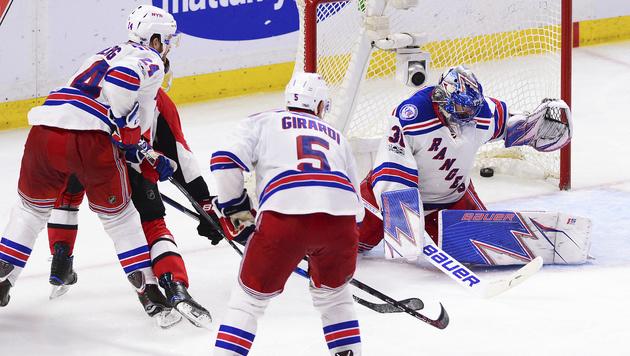 New York Rangers trotz Grabner-Assist im Rückstand (Bild: AP)