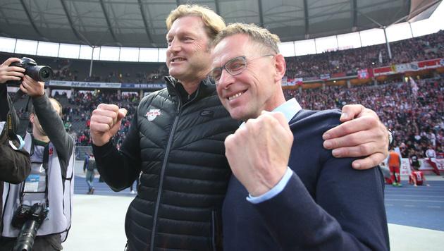 CL-Quali perfekt! RB Leipzig startet Partymarathon (Bild: GEPA pictures)