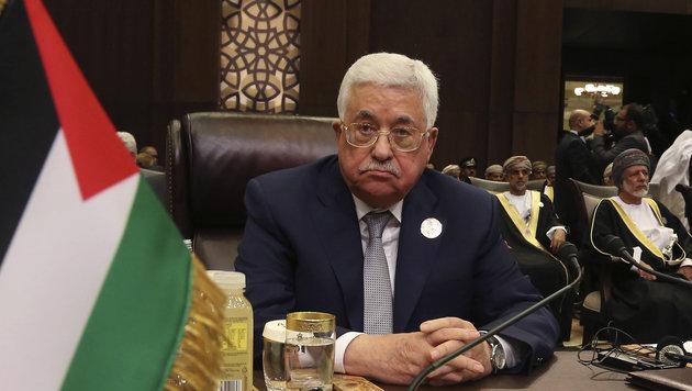 Palästinenserpräsident Mahmoud Abbas (Bild: AP)