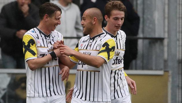 3:2! LASK gewinnt Hit bei Wacker Innsbruck (Bild: GEPA)