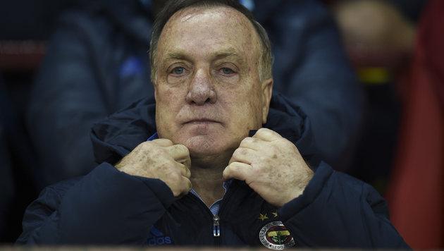 Dick Advocaat wird wohl neuer Niederlande-Coach (Bild: AFP)