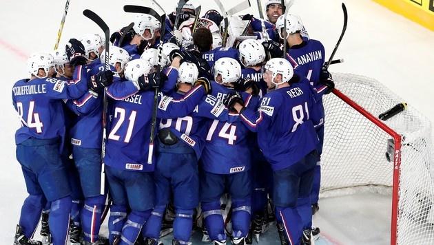 Frankreich gewann erstmals WM-Spiel gegen Finnland (Bild: AFP)