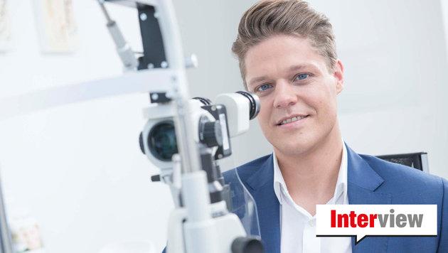 """Martin Dirisamer sagt: """"Daheim glaubt man eher einem Mediziner mit weißem Bart..."""" (Bild: Smile Eyes)"""