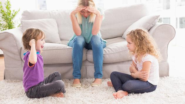 Neid und Eifersucht: Konkurrenz unter Geschwistern (Bild: thinkstockphotos.de)