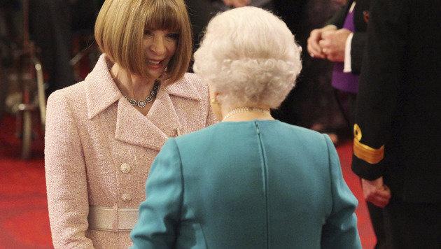 """""""Vogue""""-Chefredakteurin erhielt Orden von Queen (Bild: AP)"""