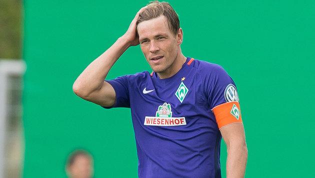 Werder-Kapitän Fritz beendet Profi-Karriere (Bild: AFP)