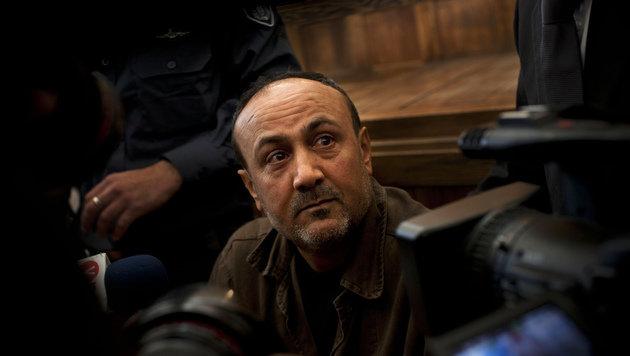 Marwan Barghouti auf einem Archivbild aus dem Jahr 2012 (Bild: AP)