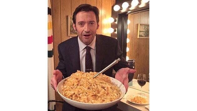 Ob Hugh Jackman diese Portion ganz alleine verdrückt hat? (Bild: Viennareport)
