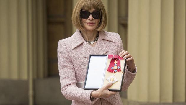"""""""Vogue""""-Chefredakteurin erhielt Orden von Queen (Bild: PA)"""
