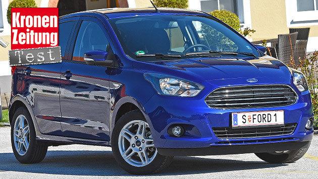 """Ford Ka+: Da gibt""""s jetzt mehr für weniger (Bild: Ford)"""