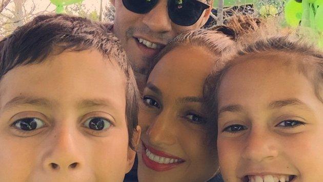 Marc Anthony und Jennifer Lopez ziehen ihre Kinder gemeinsam groß - Scheidung hin oder her. (Bild: face to face)