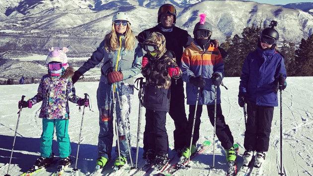 Heidi Klum und Seal sind geschieden - Urlaube verbringt man aber trotzdem weiterhin gemeinsam. (Bild: face to face)