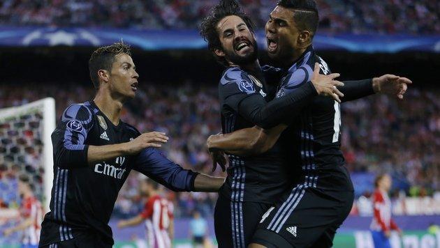 "Real Madrid ""wankt"" ins CL-Traumfinale gegen Juve! (Bild: The Associated Press)"