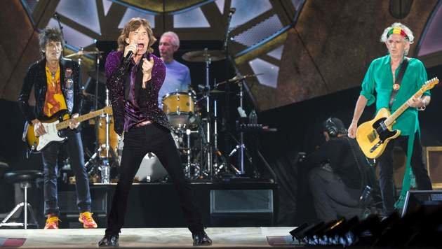 Stones-Gitarrist Ron Wood über seinen Krebs-Horror (Bild: AFP/Jack Guez)