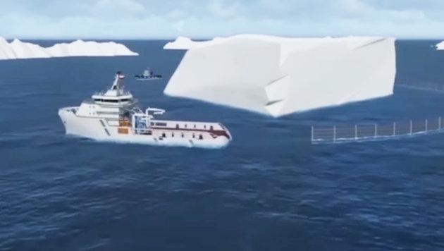 Emirate wollen Eisberg vor ihre Küste ziehen (Bild: National Advisory Bureau Limited)