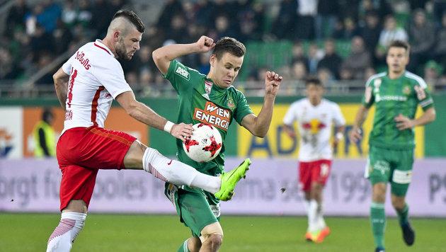 Salzburg: Gegen Rapid winkt ein neuer Rekord (Bild: APA/HERBERT NEUBAUER)