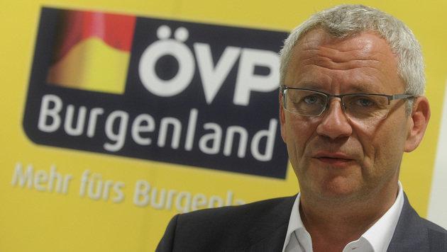 Der burgenländische ÖVP-Landesobmann Thomas Steiner (Bild: APA/HERBERT PFARRHOFER)