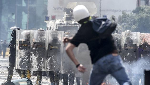 Kandidat für Verfassungs-Versammlung erschossen (Bild: AFP)