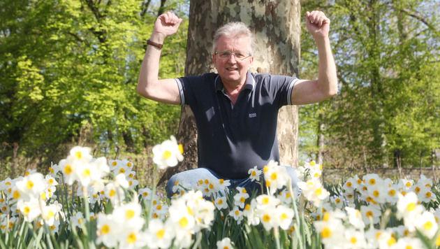 Endlich kann Gerhard Brenner das Leben wieder genießen. (Bild: Evelyn Hronek)