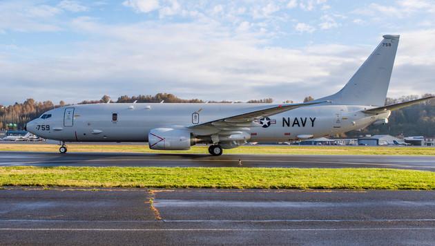 Ein US-Aufklärer vom Typ P-8A Poseidon (Bild: AFP)