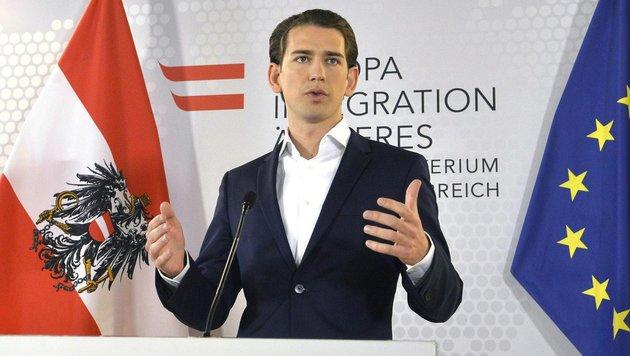 Sebastian Kurz (Bild: APA/Herbert Pfarrhofer)