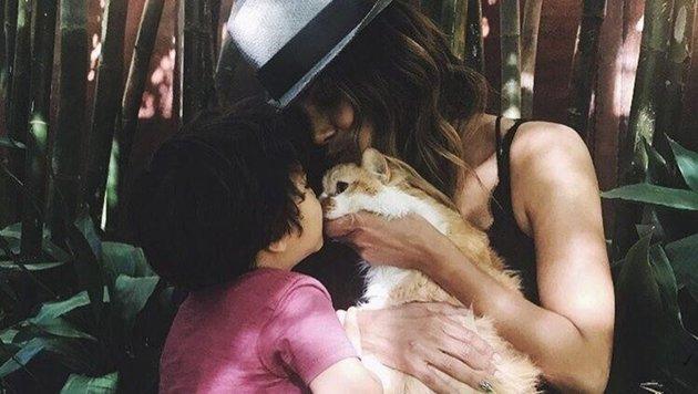 """Die ehemalige """"Catwoman"""" Halle Berry trauert um ihre Katze. (Bild: face to face)"""