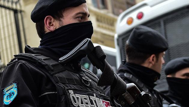 Razzien gegen Journalisten in Istanbul (Bild: AFP (Symbolbild))
