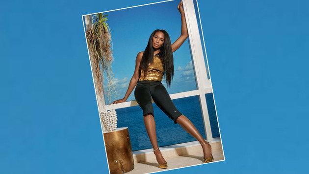 Das macht Lust auf Sommer und Urlaub: Venus Williams posiert vor dem Meer. (Bild: Instagram)
