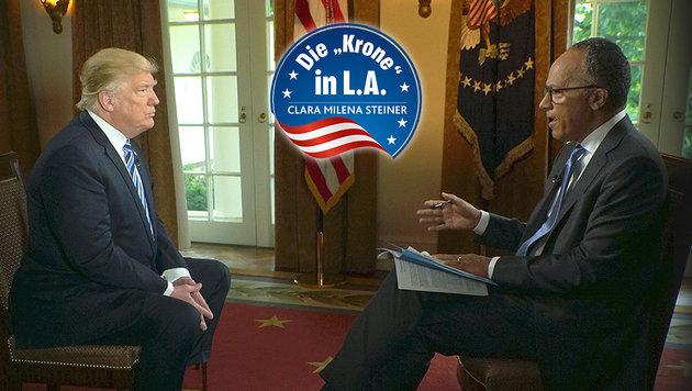 """Trump: """"Ich hätte Comey sowieso gefeuert"""" (Bild: ASSOCIATED PRESS)"""