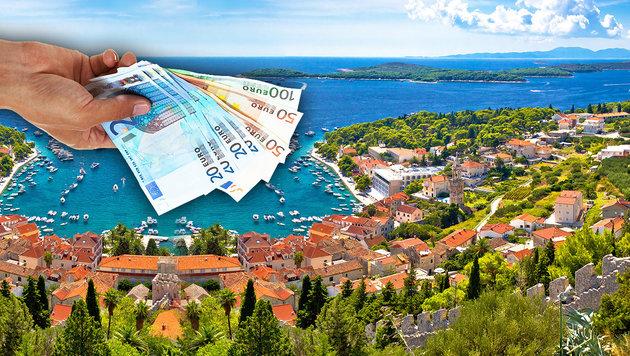 Wie viel unser Euro in Urlaubsländern wert ist (Bild: thinkstockphotos.de)