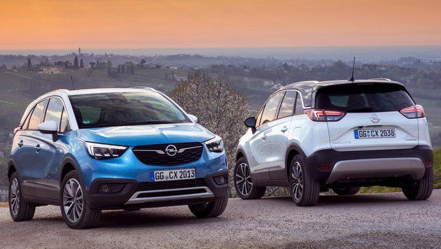 Opel Crossland X: Der Peugeopel vom Saragossa-Band (Bild: Opel)