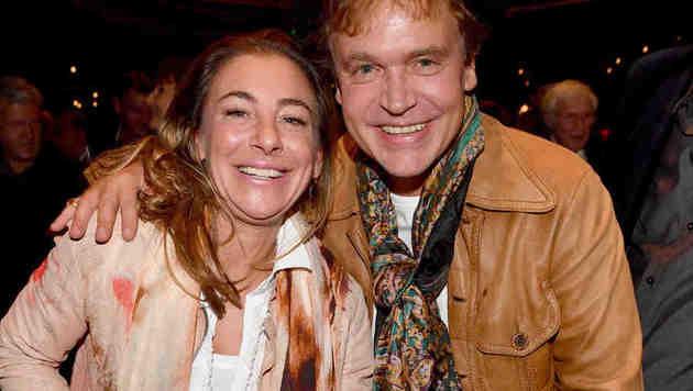 Hochzeit in Italien: Andrea Mostler und Sascha Wussow (Bild: babiradpicture)