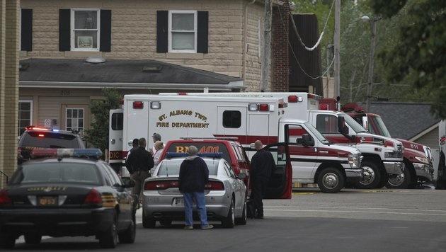 Mann erschoss drei Menschen in Pflegeheim in Ohio (Bild: AP)