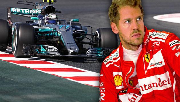 Mercedes-Gerüchte: So reagiert Ferrari-Star Vettel (Bild: GEPA)