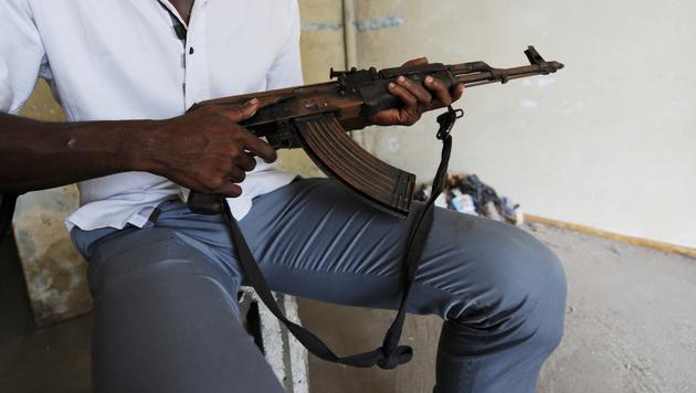EU lässt Libyen wissentlich Waffen schmuggeln (Bild: AFP)