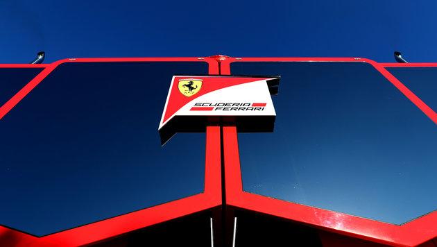 Ferrari im Training vorne - Bottas-Bolide umgebaut (Bild: GEPA)