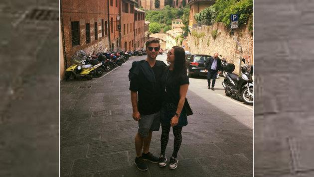Unser Ski-Star Anna Veith genießt den Italien-Urlaub mit ihrem Ehemann Manuel. Ein tolles Paar! (Bild: facebook.com)