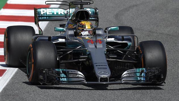 Hamilton entscheidet Qualifying-Krimi für sich (Bild: AFP)