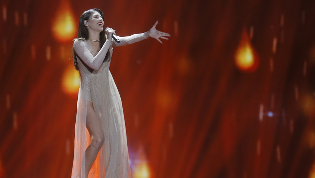 "Griechenlands Demy singt ""This Is Love"". (Bild: AP)"