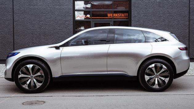 Mercedes Concept EQ: Silberfisch auf Zukunftskurs (Bild: Daimler)